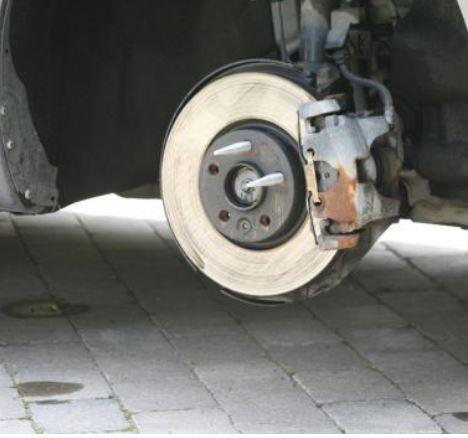 hållare vid byte av däck